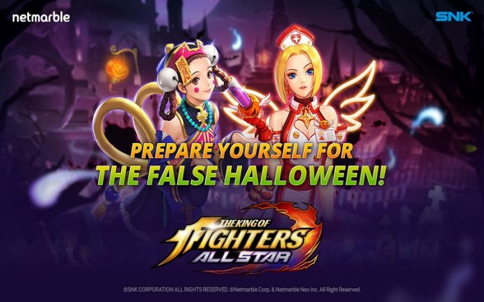 The King of Fighters Allstar'ı Sahte Cadılar Bayramı Heyecanı Sardı!