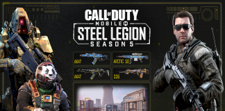 Call of Duty: Mobile 5. Sezon ''Steel Legion'' İçerikleriyle Geldi