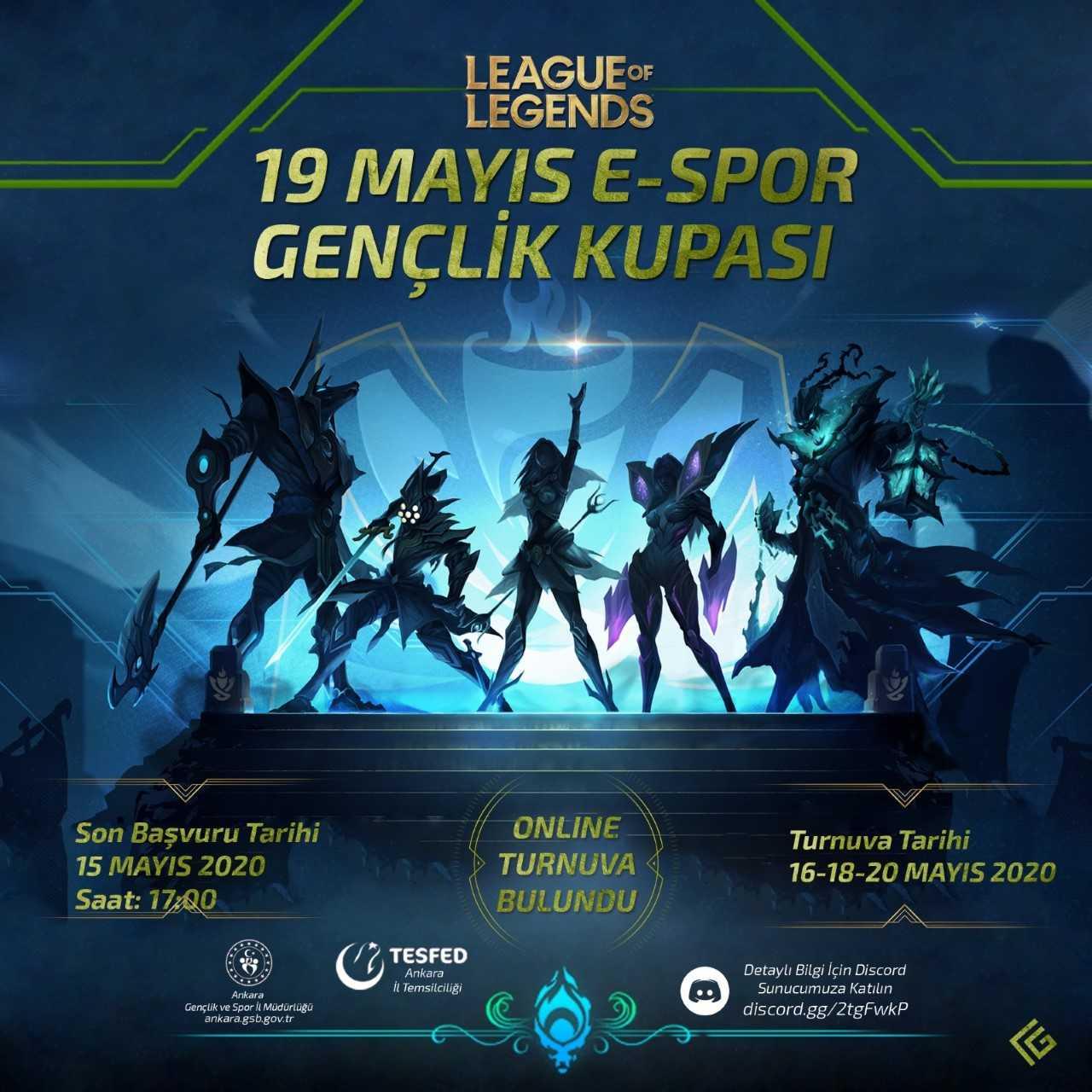 19 Mayıs Espor Gençlik Kupası Heyecanı Yaklaşıyor