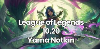 League of Legends 10.20 Yama Notları