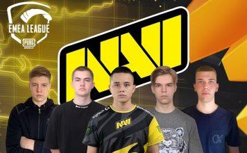 PUBG Mobile EMEA Ligi Şampiyonu NaVi